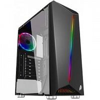 1STPLAYER R3-1R1 Корпус RAINBOW R3 / ATX, tempered glass side panel / 1x 120mm LED fan inc. / R3-1R1