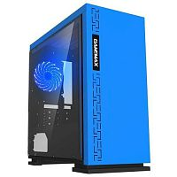 GameMax [H605BL EXPEDITION BL] H605, Синий, 1*USB3.0; 2*USB2.0, Window, (без БП)