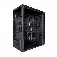 Exegate EX277804RUS Корпус Minitower BAA-104U Black, mATX, <AAA350, 80mm>, 2*USB+1*USB3.0, Audio