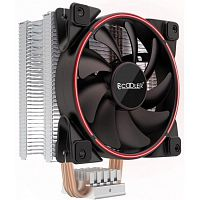 PCCooler GI-X4R V2 Кулер S775/115X/20XX/AM2/AM3/AM4 (24 шт/кор, TDP 145W, 120mm PWM SilentPro Red LED FAN, 4 тепловые трубки 6мм, 1000-1800RPM, 26.5dBa)