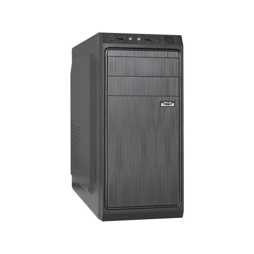 Exegate EX283729RUS Корпус Miditower XP-401 Black, ATX, <без БП>, 2*USB, Audio со склада в Москве