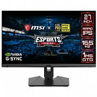"MSI 27"" Optix MAG274QRF черный {IPS 2560 x 1440 165Hz 1ms DP 2x HDMI Type C}"