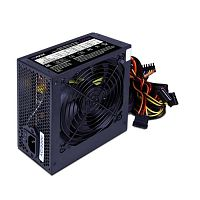 HIPER Блок питания HPB-550RGB (ATX 2.31, 550W, ActivePFC, RGB 140mm fan, Black) BOX