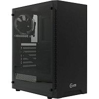 Powercase CMAXB-F2L1 Корпус Maestro X3 Black, Tempered Glass, 2х 120mm fan + 1x 120mm 5-color fan, чёрный, ATX  (CMAXB-F2L1)
