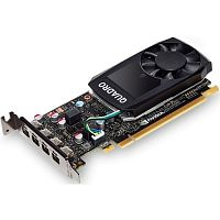 PNY  Quadro P620 2GB RTL [VCQP620DVI-PB] {GDDR5, 128 bit, 4xmDP, Low Profile, 4xmDP to DVI-D SL adapter, ATX&LP Bracket}