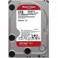 Жесткий диск WD Original SATA-III 3Tb WD30EFZX NAS Red Plus (5400rpm) 128Mb 3.5""