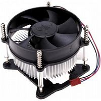 Cooler Deepcool CK-11508V2 {Soc-1150/1155/1156, 3pin, 25dB, Al, 65W, 245g, screw}