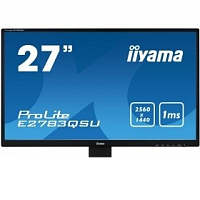 "Монитор IIYAMA 27"" E2783QSU-B1 черный (TN+film LED 2560x1440 1ms 16:9)"