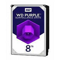 "8TB WD Purple (WD82PURX) {Serial ATA III, 7200- rpm, 256Mb, 3.5""}"