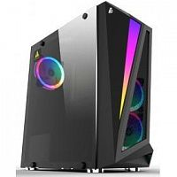 1STPLAYER R5-3R1 Корпус RAINBOW R5 / ATX, tempered glass side panel / 3x 120mm LED fans inc. / R5-3R1