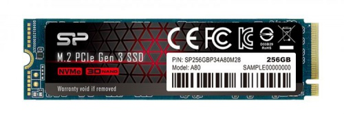 Накопитель Silicon Power SSD M.2 256Gb A80 SP256GBP34A80M28 со склада в Москве