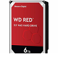 "Жесткий диск 6TB WD Red WD60EFAX (SATA III, 5400- rpm,256Mb, 3.5"")"