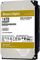16TB WD Gold  (WD161KRYZ) {SATA III 6 Gb/s, 7200 rpm, 512Mb buffer}