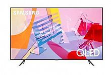 "Samsung 50"" QE50Q60TAUXRU Q черный {Ultra HD/1400Hz/DVB-T2/DVB-C/DVB-S2/USB/WiFi/Smart TV (RUS)}"