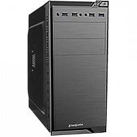Exegate EX272749RUS Корпус Minitower Exegate QA-412U Black, mATX, <без БП>, 2*USB+2*USB3.0, Audio