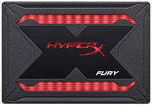 Накопитель Kingston SSD 480GB HyperX Fury RGB SHFR200/480G