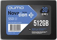 Накопитель QUMO SSD 512GB QM Novation Q3DT-512GPGN OEM