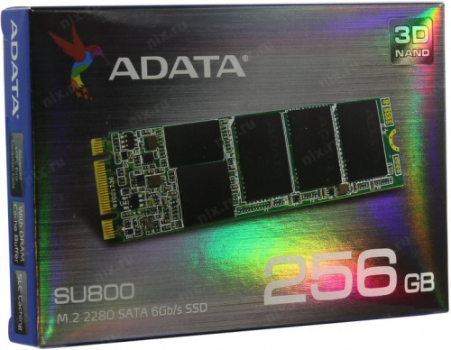 A-DATA SSD M.2 256GB Ultimate SU800 ASU800NS38-256GT-C со склада в Москве фото 5