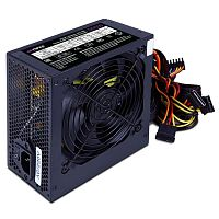 HIPER Блок питания HPT-500 (ATX 2.31, peak 500W, Passive PFC, 120mm fan, power cord, черный) OEM