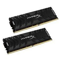 Kingston DDR4 DIMM 16GB Kit 2x8Gb HX432C16PB3K2/16 PC4-25600, 3200MHz, CL16, HyperX Predator