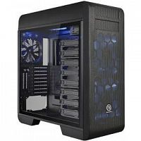 Case Tt Core V71 TG  [CA-1B6-00F1WN-04]  E-ATX/ win/ black/ no PSU / Tempered Glass