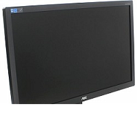 "Монитор AOC 23.6"" E2475SWJ(/01) черный (TN+film LED 1920x1080 2ms 170°/160° 16:9)"