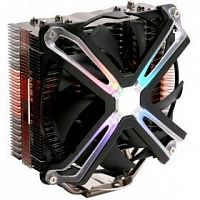 Cooler Zalman CNPS17X Soc-FM2+/AM2+/AM3+/AM4/1150/1151/1155/2011/ 4-pin 17-29dB Al+Cu 200W 700gr LED Ret