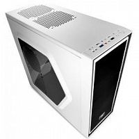 Deepcool TESSERACT SW-WH, ATX, White-Black, Window, без БП