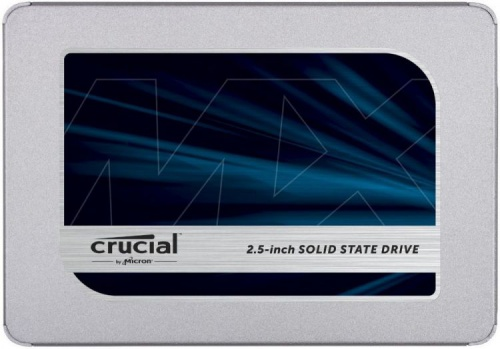 Накопитель Crucial SSD MX500 500GB CT500MX500SSD1 со склада в Москве