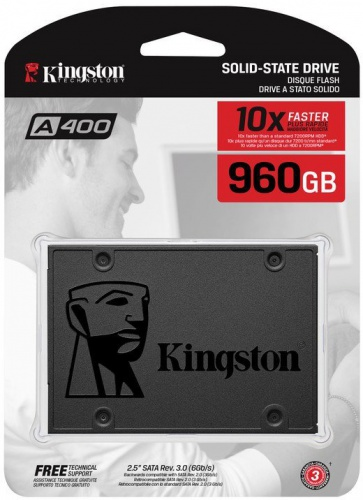 Накопитель Kingston SSD 960GB SA400 SA400S37/960G со склада в Москве фото 4
