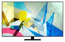 "Samsung 50"" QE50Q80TAUXRU Q черный {Ultra HD/50Hz/DVB-T2/DVB-C/DVB-S2/USB/WiFi/Smart TV (RUS)}"