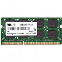 Foxline DDR3 SODIMM 8GB FL1600D3S11-8G (PC3-12800, 1600MHz)
