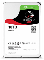 "Жесткий диск Seagate Ironwolf 10TB ST10000VN0008 (SATA 6.0Gb/s, 7200 rpm, 256mb, 3.5"",для NAS)"