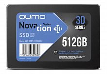Накопитель QUMO SSD 512GB QM Novation Q3DT-512GAEN