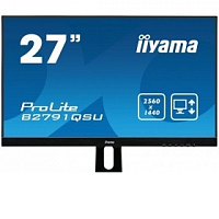 "Монитор IIYAMA 27"" B2791QSU-B1 черный (TN+film LED 2560x1440 1ms 16:9)"