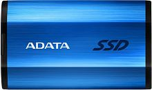 ADATA 1TB SE800 External SSD USB 3.2 Gen2 Type-C, R1000/W1000, IP68 waterproof/shockproof, Blue [ASE800-1TU32G2-CBL]