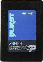 Накопитель Patriot SSD 240Gb Burst PBU240GS25SSDR