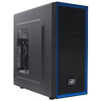 Deepcool TESSERACT BF, ATX, Black-Blue, без БП[DP-CCATX-TSRBFBK]