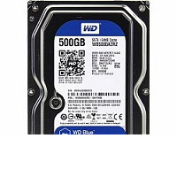 Жесткий диск 500Gb WD Blue WD5000AZRZ (SATA III, 5400 rpm, 64Mb)