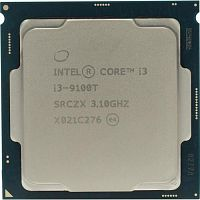CPU Intel Core i3-9100T Coffee Lake OEM {Socket 1151v2/3100MHz/6Mb/TDP-35W/ОЕМ) (CM8068403377425)}