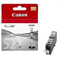Canon CLI-521Bk 2933B004 Картридж для Canon Pixma iP3600, 4600, MP540 ,MP620, MP630, MP980, Черный, 9 мл.