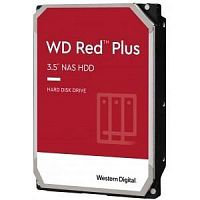 "8TB WD Red Plus (WD80EFBX) {Serial ATA III, 7200- rpm, 256Mb, 3.5"", NAS Edition}"