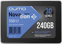 Накопитель QUMO SSD 240GB QM Novation Q3DT-240GPBN/GPPN OEM