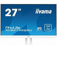 "IIYAMA 27"" XUB2792QSU-W1 белый {IPS LED 2560x1440 5ms 16:9 350cd 178гр/178гр DVI HDMI DisplayPort}"