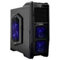 GameMax [M-901] без БП (Midi Tower, ATX, Black, Blue LED)