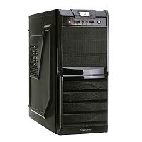 Exegate EX272721RUS Корпус MiditowerXP-329 Black, ATX, <XP400, Black,120mm>, 2*USB, Audio
