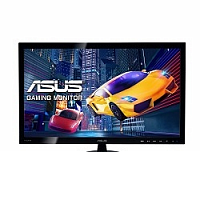 "ASUS LCD 24"" VS248HR черный {TN+film LED 1920x1080 1мс 75Hz 170/160 250cd 16:9 DVI HDMI D-Sub}"