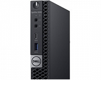 Компьютер DELL Optiplex 5060-7670 Micro (i5-8500T/8Gb/1Tb/W10Pro/k+m)