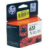 HP C2P11AE Картридж №651, Color {Deskjet Ink Advantage 5645, 5575 (300стр.)}