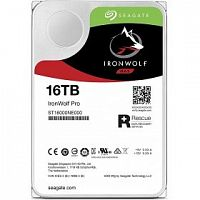 16TB Seagate Ironwolf Pro (ST16000NE000) {SATA 6 Гбит/с, 7200 rpm, 256mb buffer, для NAS, 24x7}